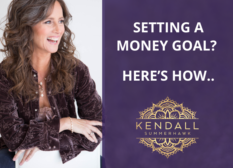 Setting a money goal? Here's how…